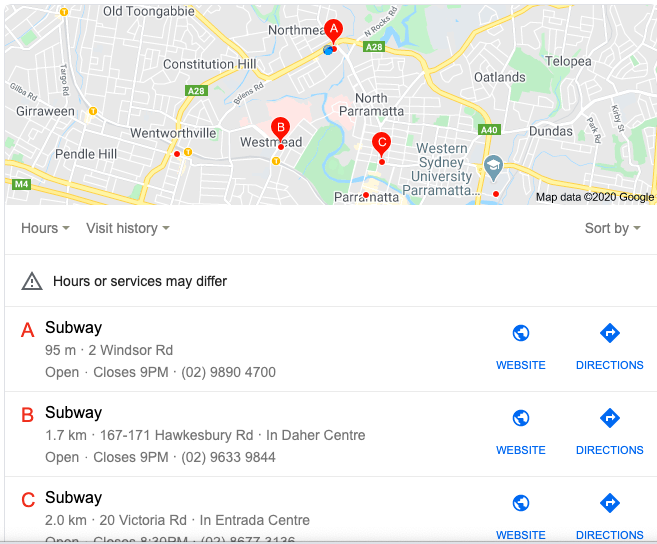 Be Found on Google Map Searches & Local Pack Listing