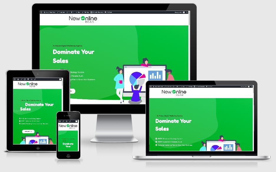 Web-design-and-development-New-Online-Road