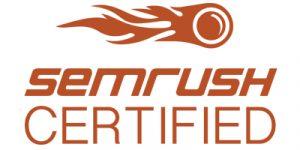 new online road sem rush certified partner
